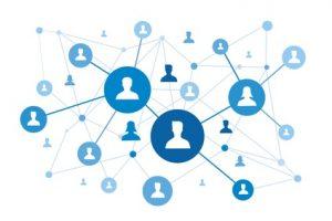 réseau de l'agent commercial